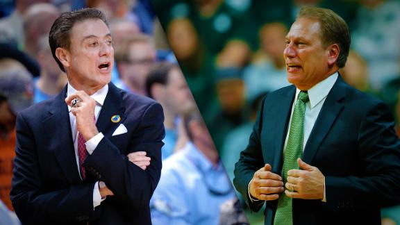 Andy Katz's 3-Point Shot: Izzo vs. Pitino