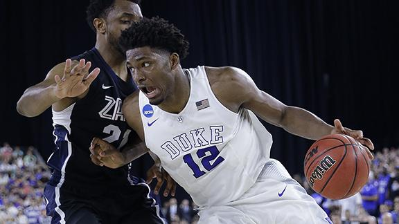 Duke runs away from Gonzaga to win South Region