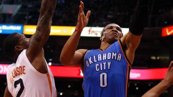 OKC rallies past Phoenix as Westbrook soars