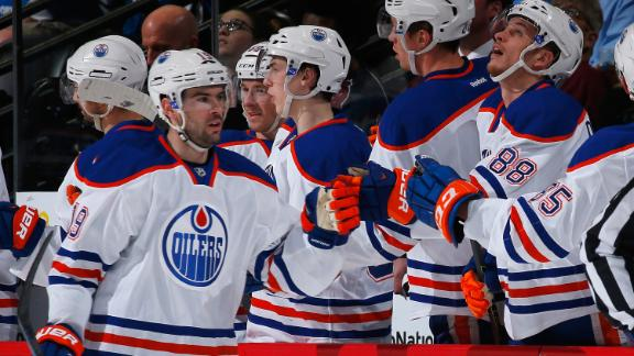 Oilers Cruise Past Avalanche