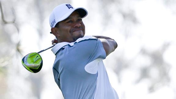 Tiger plays Augusta, undecided for Masters
