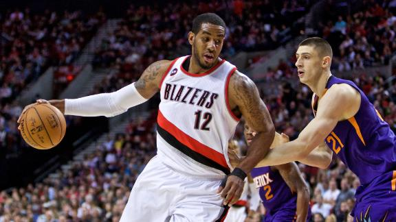 Blazers light up Suns to clinch playoff berth