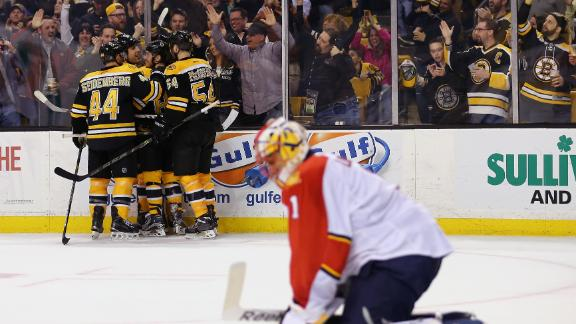Bruins edge Panthers