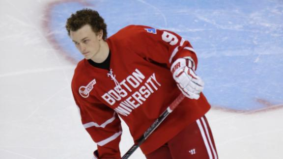 Jack Eichel not focusing on future NHL team