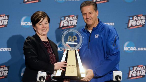 John Calipari wins AP Coach of the Year