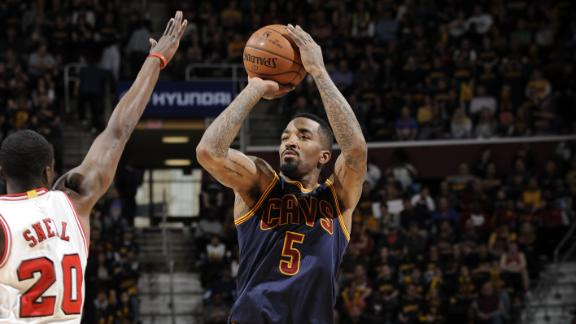 Cavs hit 16 3-pointers in win over Bulls