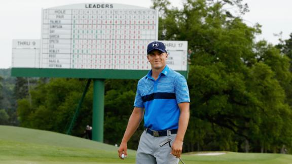 Spieth leads Masters after first round