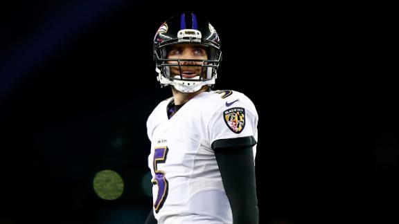 Video - Ravens confident Joe Flacco can develop receivers