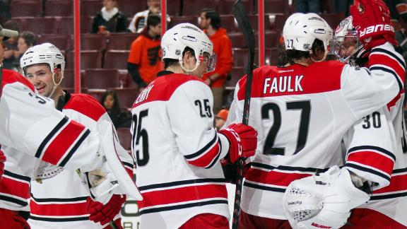 Hurricanes blow by Flyers