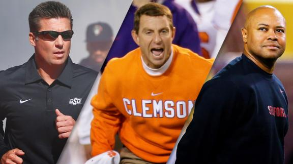 Top college football coaches under 50