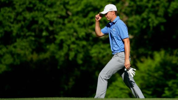 Spieth leads by four strokes heading into Sunday