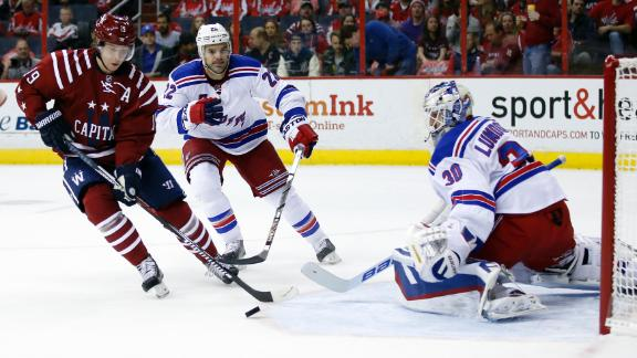 Video - Rangers top Caps for NHL-best 53rd win