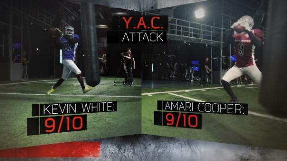 ESPN Sport Science Draft Combine: Kevin White & Amari Cooper