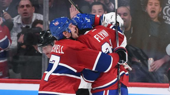 Canadiens overcome Subban's ejection to take Game 1