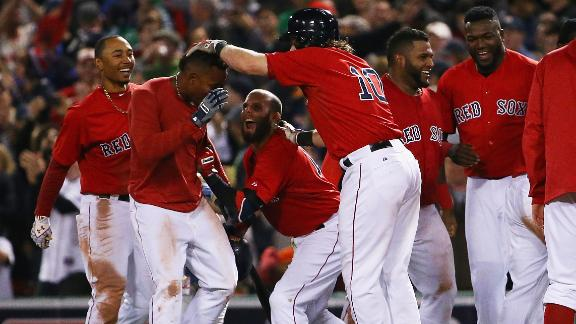 Red Sox get walk-off win