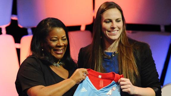 W @ the WNBA draft: Logic interview