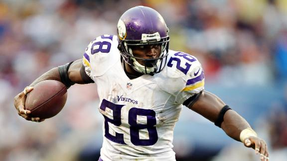 Chances Vikings trade Peterson
