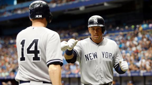 Yankees sweep Rays
