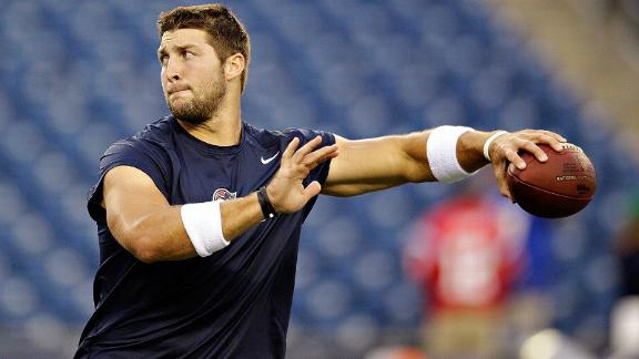 McFarland's view of Tebow with Eagles