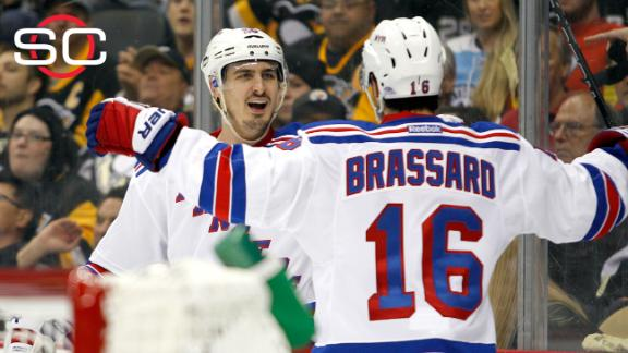Rangers edge Penguins to take series lead