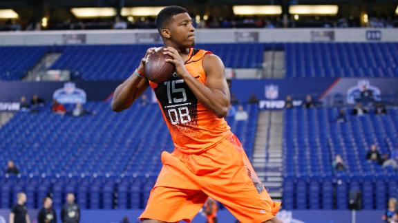 Draft Academy: Winston meets with Jim Harbaugh