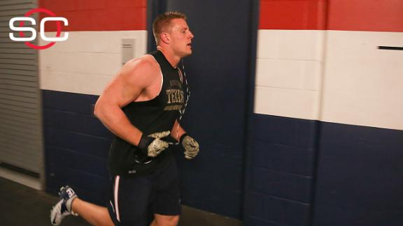 Texans' Watt staying focussed