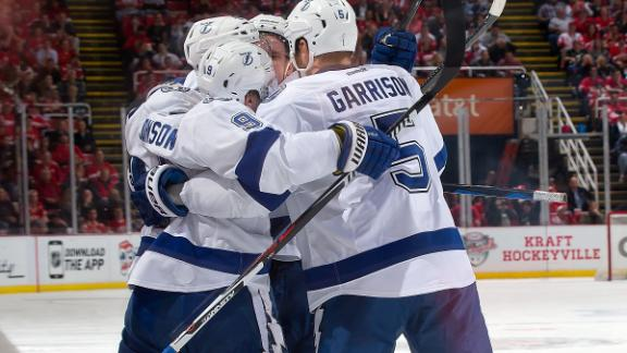 Tyler Johnson Delivers Clutch Performance In Stunning Bolts Win