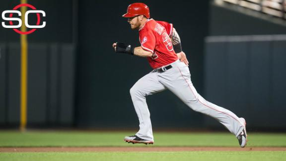 Angels close to trading Hamilton to Rangers