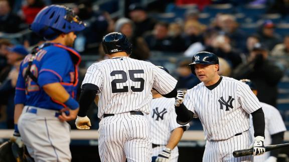 Yankees snap Mets' 11-game streak