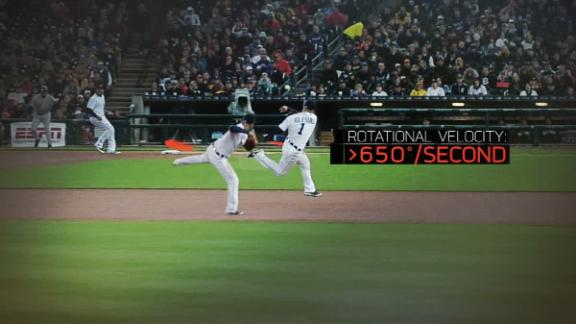Sport Science: MLB Play of the Week - Jose Iglesias