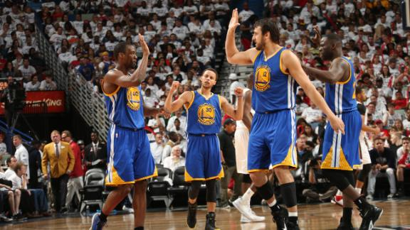 Warriors sweep Pelicans