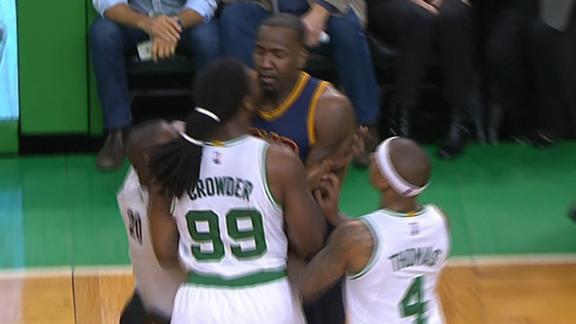 Perkins and Crowder involved in altercation