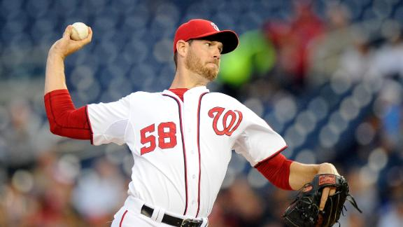 Doug Fister looking to lead Nationals past Braves