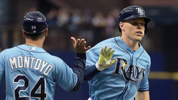Guyer's career day lifts Rays