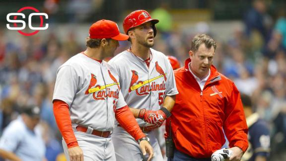 Wainwright out for the season with Achilles injury