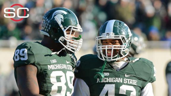 Michigan State's defense impresses