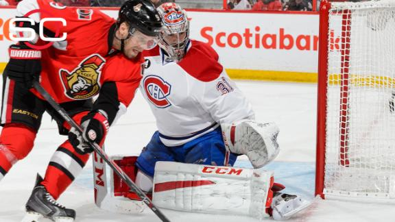 Canadiens bounce Senators from playoffs