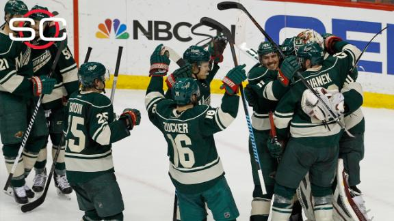 Wild eliminate Blues from playoffs