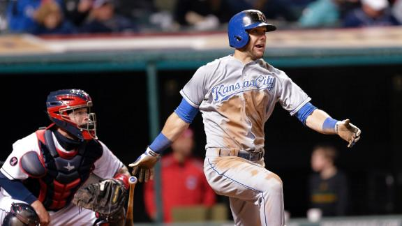 Royals power past Indians
