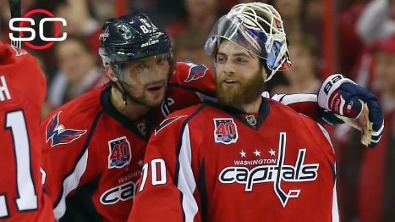 Capitals playing different style of hockey