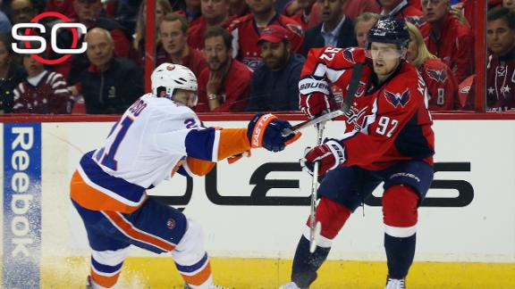 Capitals eliminate Islanders from playoffs