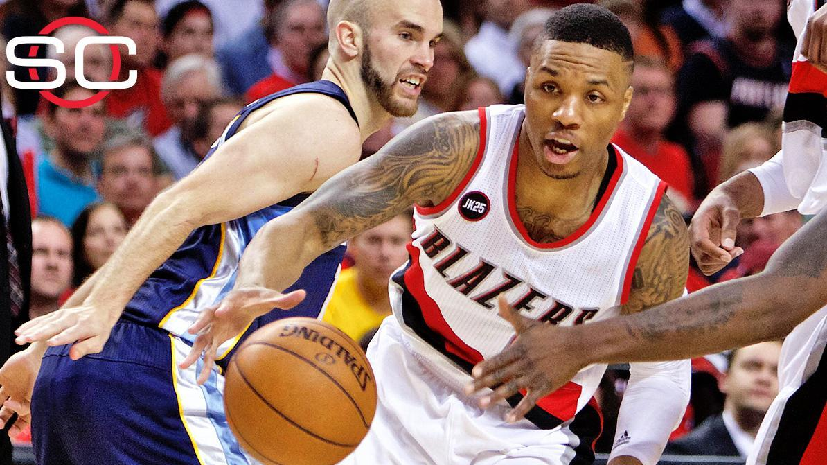 Blazers stay alive with Game 4 win
