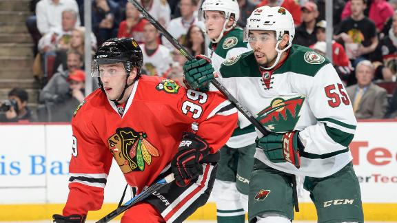 Blackhawks and Wild for third straight playoffs