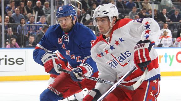 Rangers, Capitals square off in the playoffs again