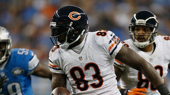 Bears shopping Martellus Bennett