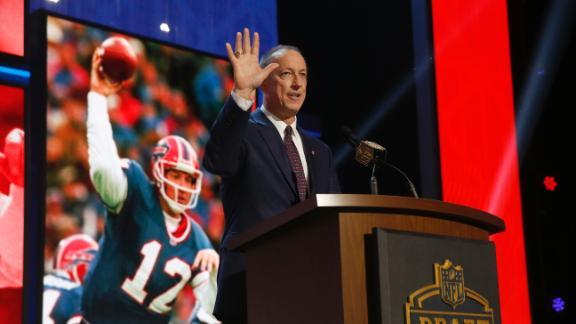 Video - #KellyTough at the NFL draft