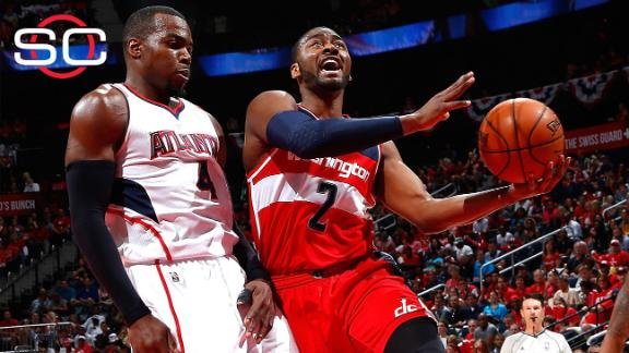 John Wall on Game 1 win over Hawks
