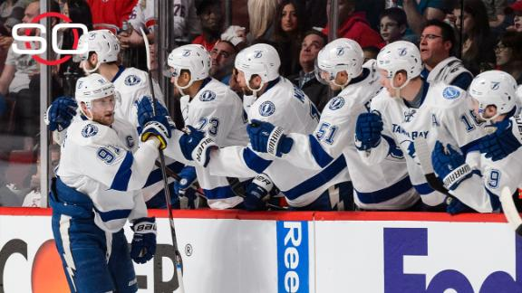 Lightning take 2-0 series lead over Canadiens