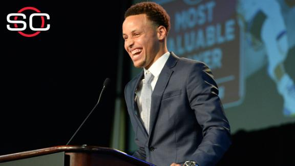Curry: 'I'm proud of this moment'