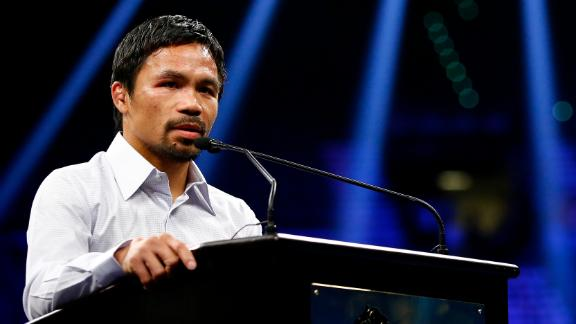 Fans file lawsuit against Pacquiao